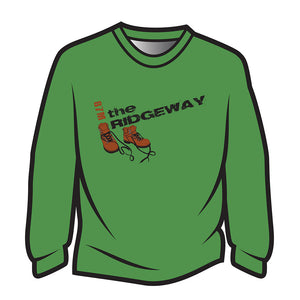 Green The Ridgeway Design 2 Long Sleeve T-Shirt
