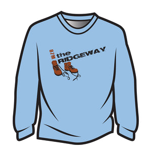 Light Blue The Ridgeway Design 2 Sweatshirt
