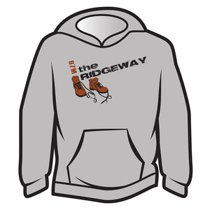 Light Grey The Ridgeway Design 2 Hoodie