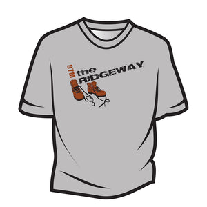 Light Grey The Ridgeway Design 2 T-Shirt