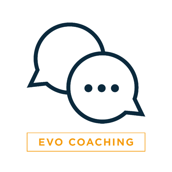 One-On-One EVO Accountability Coaching - Weekly Virtual Sessions