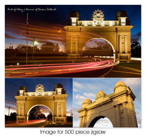 Arch of Victory & Avenue of Honour, Ballarat VIC