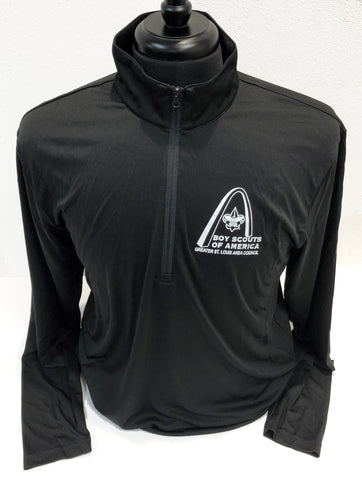 1/4 Zip Tech Pullover - GSLAC Arch - Men's - Black