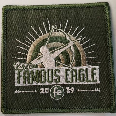 2019 Famous Eagle Green Patch no loop