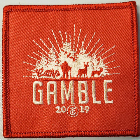 2019 Gamble Patch Orange no loop
