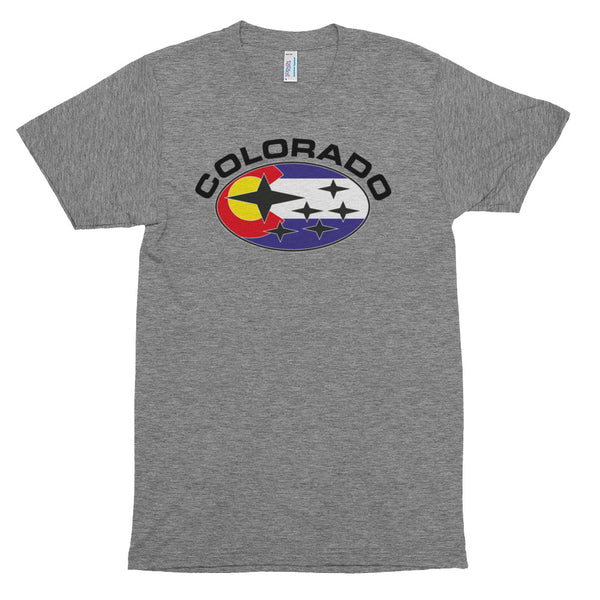 Colorado Flag Subaru T-Shirt