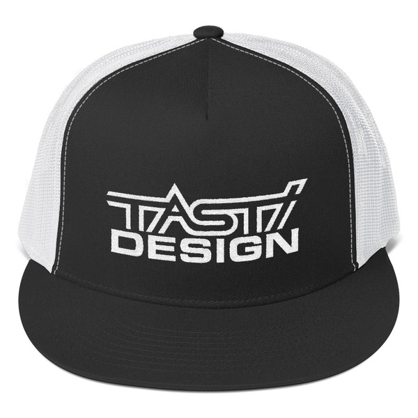 TASTI Design Trucker Cap (White Logo)