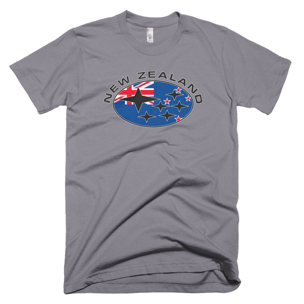 New Zealand Flag Subaru T-Shirt
