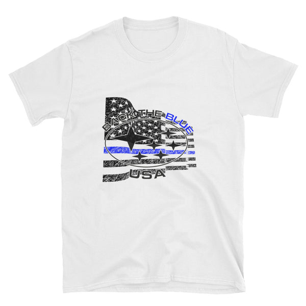 """Back the Blue"" Subaru USA Awareness Shirt"