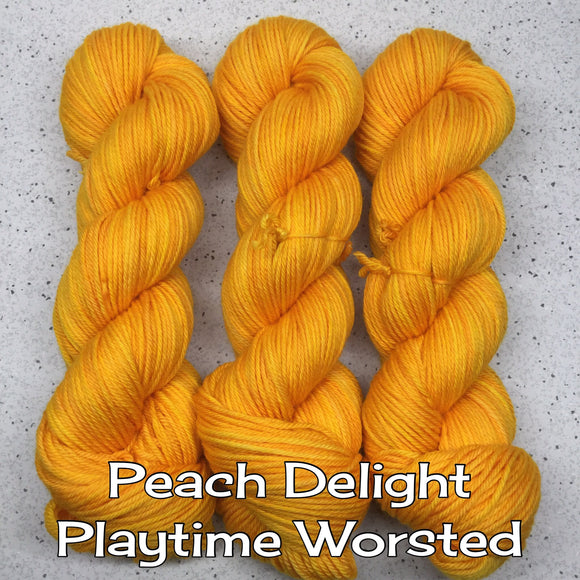 Peach Delight Playtime Worsted