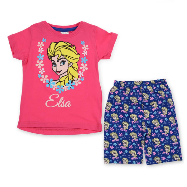 Disney Frozen Fushia Summer PJ