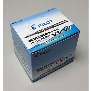 [Today ONLY] Pilot BXS-IC-S3 Hi-Tecpoint V5/V7 Ink Cartridge (12pcs) - Red Ink