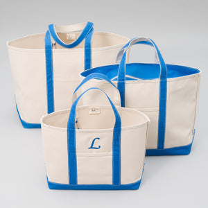 Classic Tote Bag - Chefchaouen Blue - Sizes