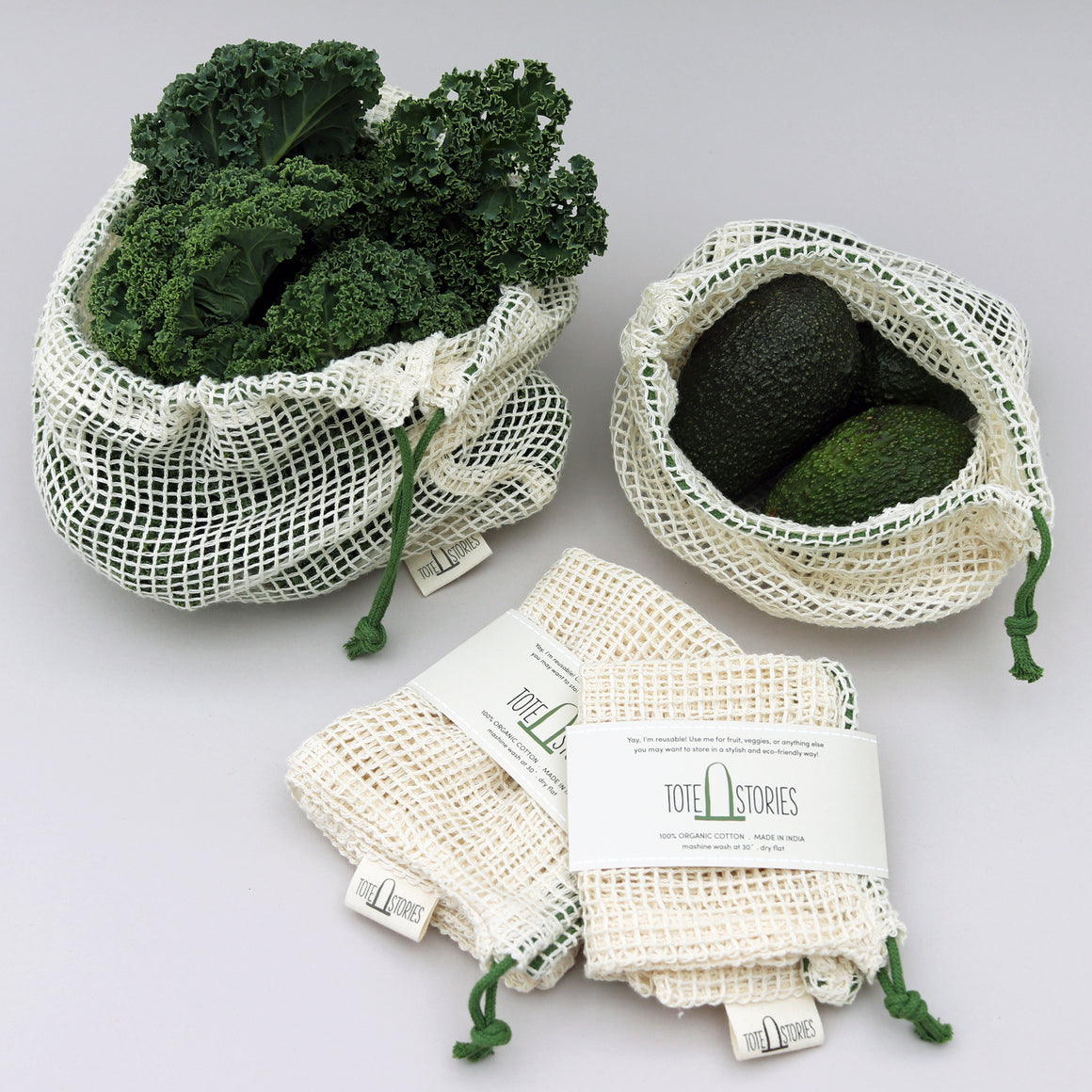 Mesh produce bag - Hamneda Forest