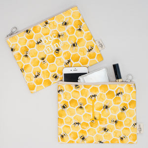 Pouch - Bee Lisbon Yellow