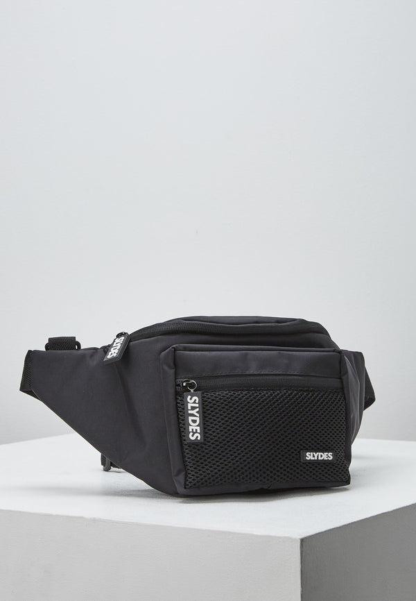 Twine Black Bum Bag