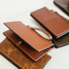 Antique Saddle Everyday Wallet