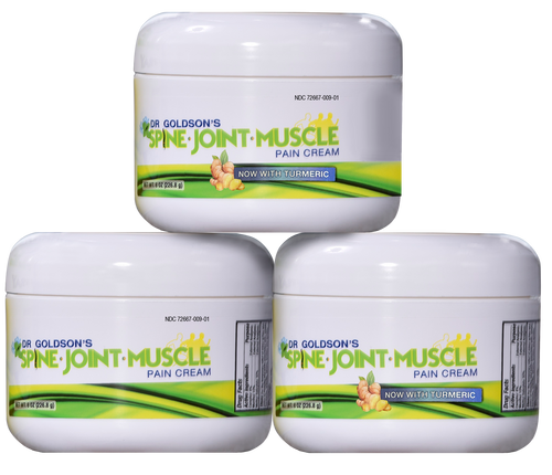 Dr. Goldson's Spine Joint Muscle Cream With Turmeric