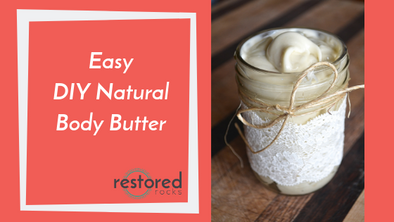 The BEST DIY All-Natural Lotion