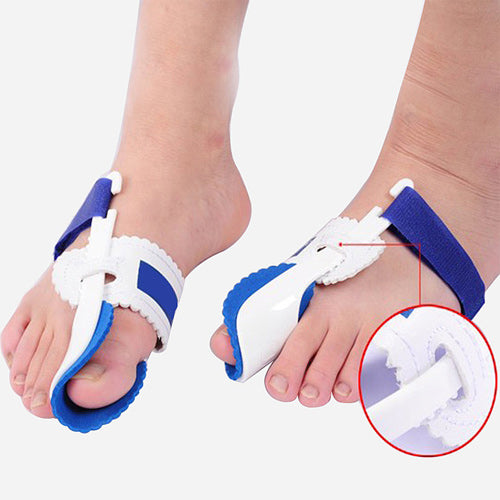 Orthopedic Bunion Corrector (wear at night) - Adjustable for multiple foot sizes