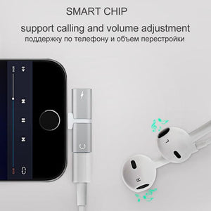 Music & Charging Splitted Adapter