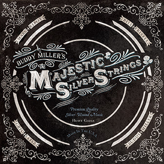 Buddy Miller's Majestic Silver Strings - CD