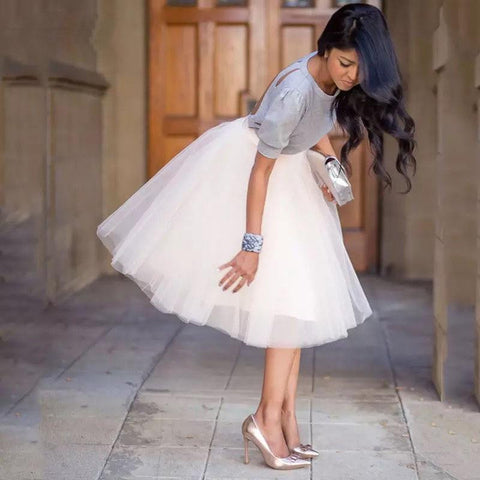 Puffy Tulle Tutu Adorable Skirt