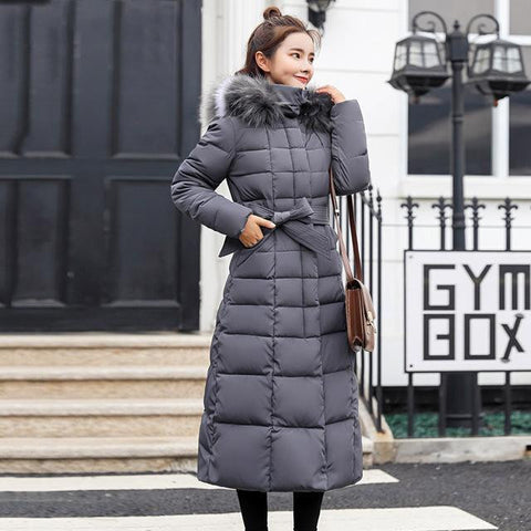 X-Long 2019 New Arrival Fashion Slim Winter Coat