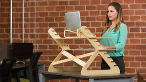 "GadgetReview™: ""Readydesk is better"" standing desk converter"