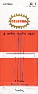 colonial beading needles