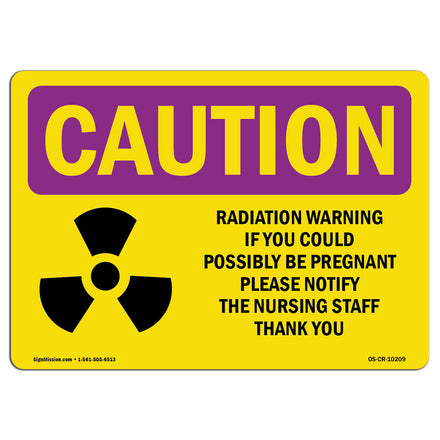 Radiation Warning If You Could With Symbol