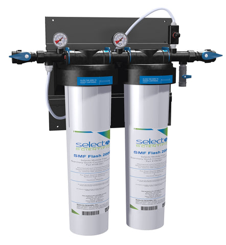 Selecto SMF SteamerGuard Flash4000, 81-3220, Twin Hollow Carbon Ceramic Filter System, Scale Inhibitor