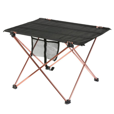 Aluminum Alloy Oxford Cloth Table Outdoor Ultralight Portable Folding Table Camping Picnic Table Outdoor Barbecue Fishing Chairs