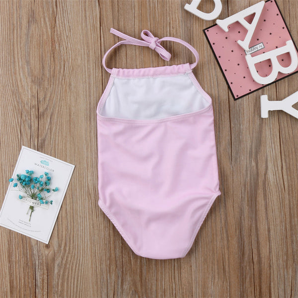 Unicorns & Rainbows Halter Swimsuit