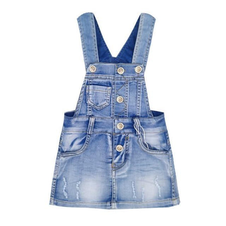 Erin Denim Crop Jumpsuit