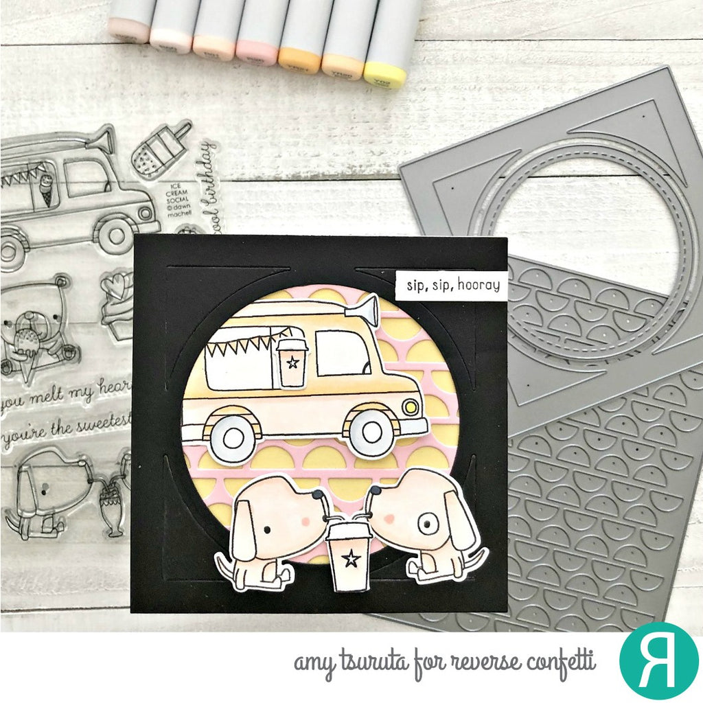 Square & Circle Frame Confetti Cuts