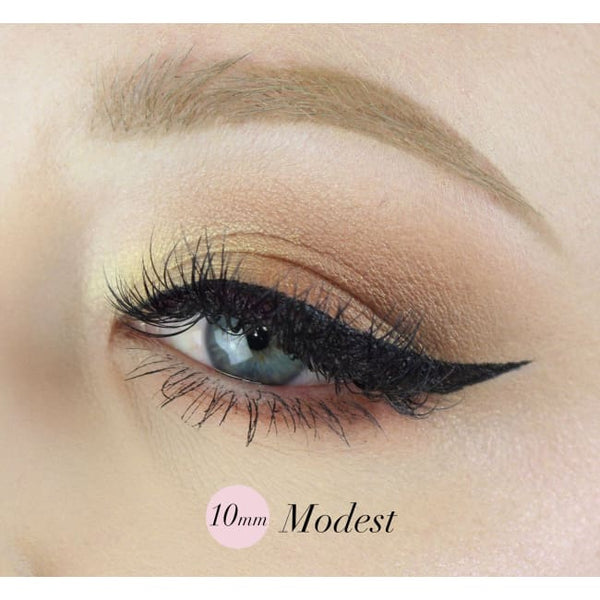 The Quick Flick Intense Black Modest- 10mm - Eye Liner