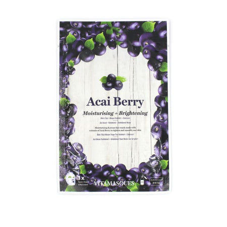 VITAMASQUES Acai Berry Sheet Mask