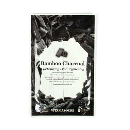 VITAMASQUES Bamboo Charcoal Sheet Mask