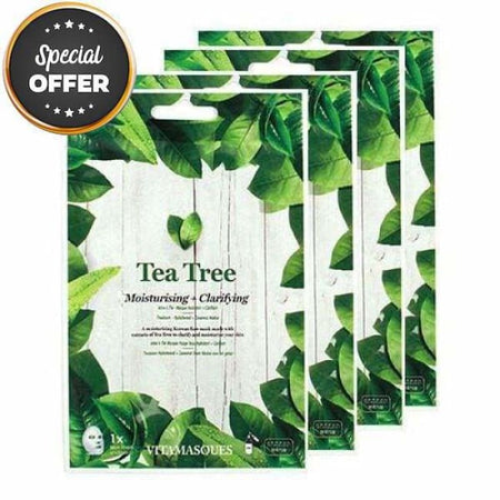 VITAMASQUES Tea Tree Sheet Masks Multipack
