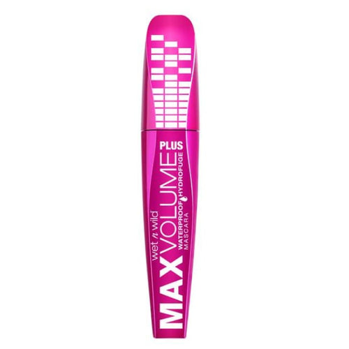 Wet n Wild Max Volume Plus Waterproof Mascara - Ampd Black - Mascara