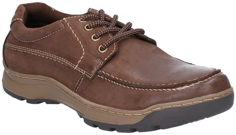 BROWN TUCKER LACE SHOE