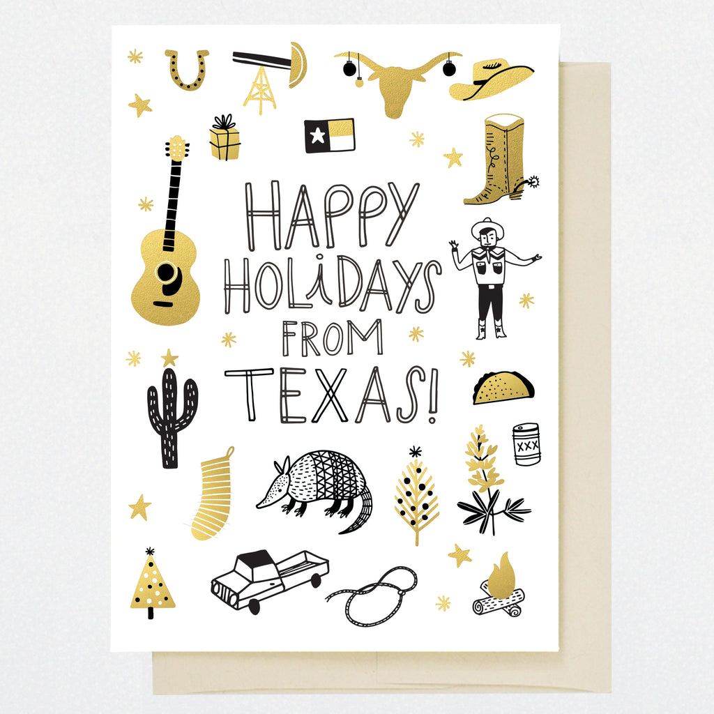 HL1257 TEXAS HOLIDAY DOODLES