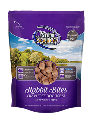 NutriSource Grain Free Rabbit Dog Treats