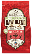 Stella & Chewy's Small Breed Red Meat Recipe - Raw Blend Baked Dry Dog Food