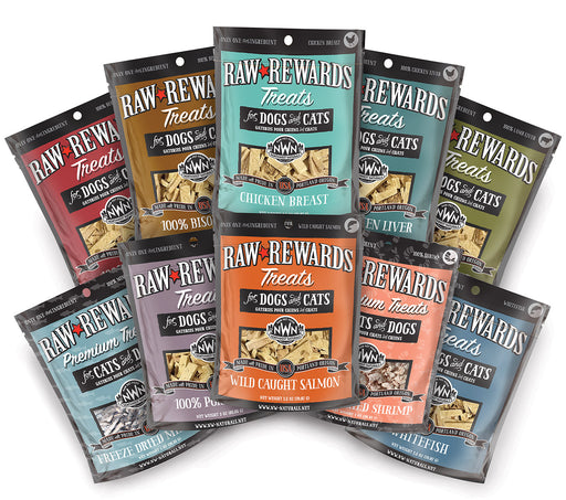 Northwest Natural Freeze Dried Treats for Dogs and Cats