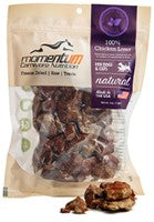 Momentum Freeze Dried Chicken Livers Dog Treats