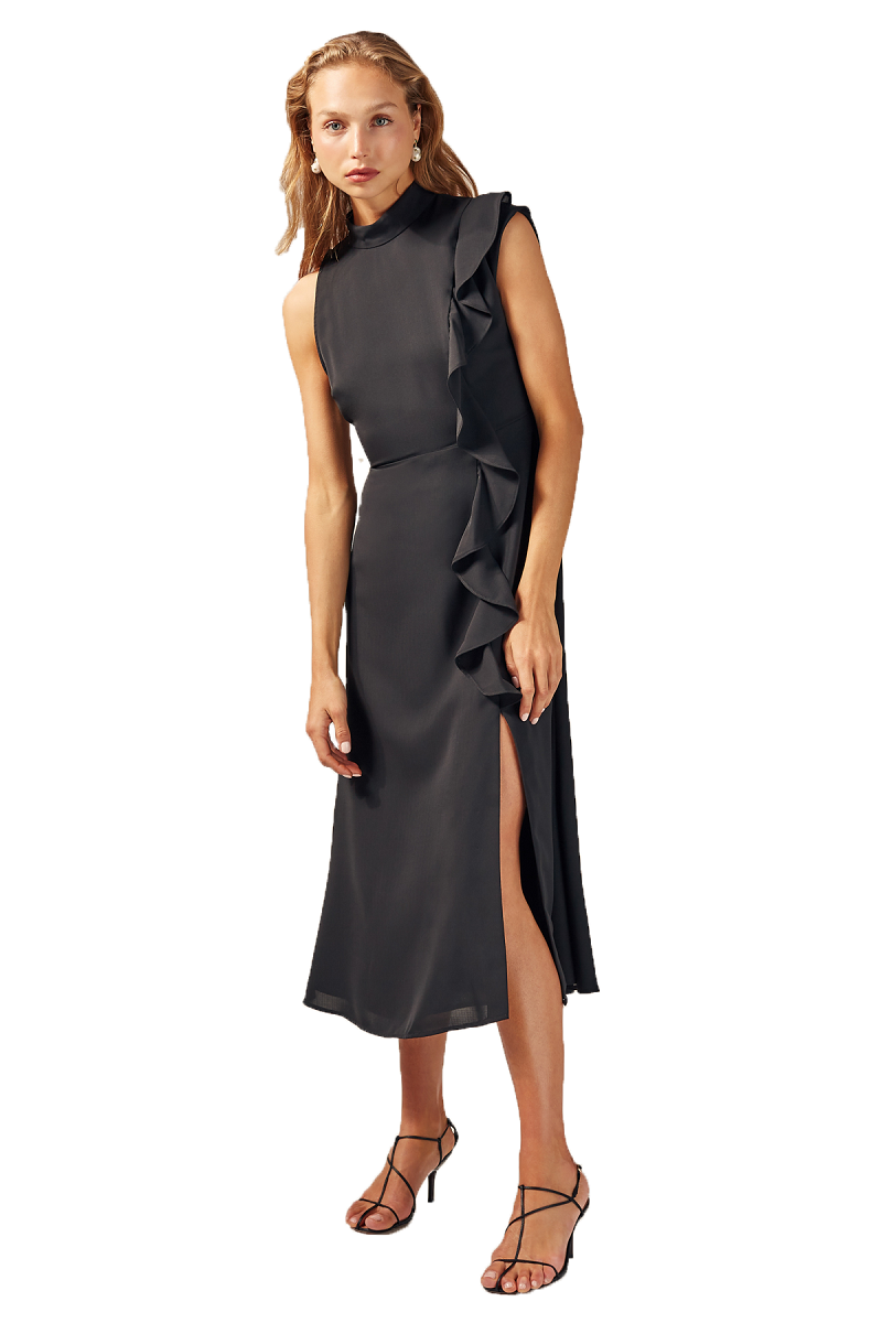 C/MEO Augment Dress in Black