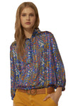 Ba&sh Room Blue Blouse