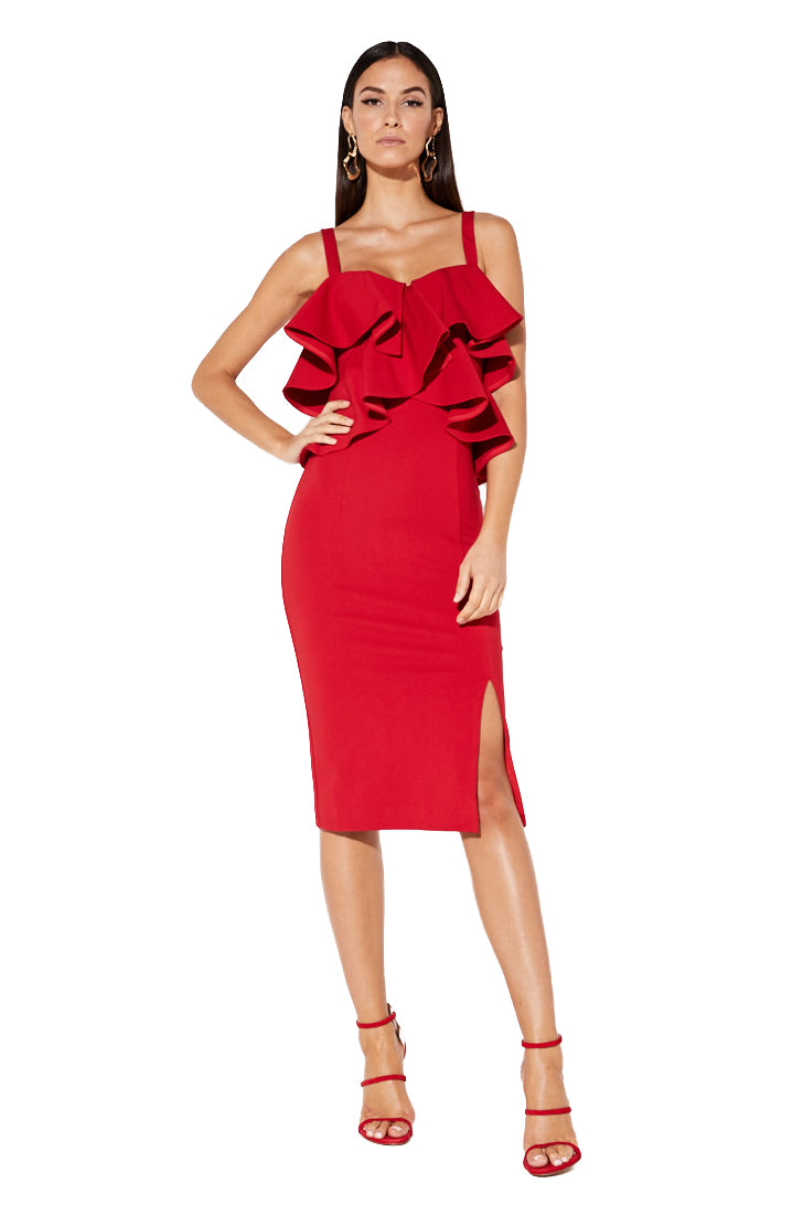 Mossman Beyond This Moment Dress in Scarlett